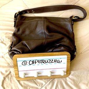 Coach Shoulder Bag (Leather)